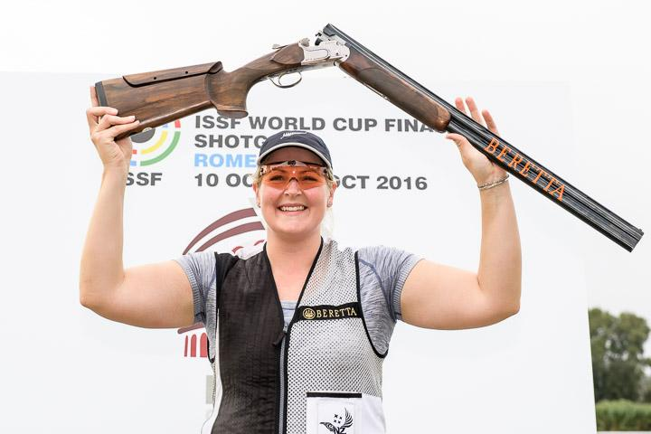 Natalie Rooney GOLD ISSF World Cup Fianl 2016